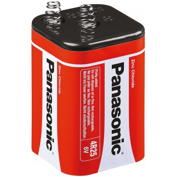 PANASONIC Block battery 6 V - type 4R25 RZ-B 7.4 Ah Batteries, chargers