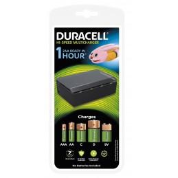 DURACELL Chargeur Duracell Hi-Speed pour piles AA-, AAA-, C, D, et 9V NiMH - temps de charge 1 h Piles, batteries, chargeurs