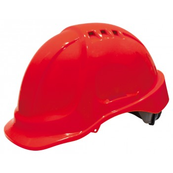 SECURX Casque de sécurité turn-lock - ROUGEVêtements-EPI