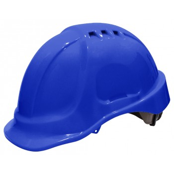 SECURX Casque de sécurité turn-lock - BLEUCasques de chantier