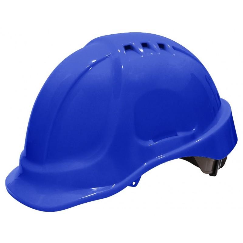 SECURX Security helmet Turn-lock - BLUE Helmets of construction site