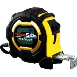 TAJIMA G-LOCK magnetic roller gauge 5 m x 27 mm + 150% extendable length Meters
