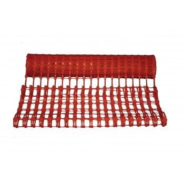 VINMER Boundary net plastic red 50 m x 1 m - 150 g- m2 Road signs