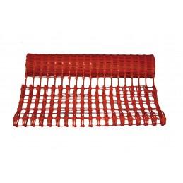 VINMER Barrière de balisage rouge 50 m x 1 m - 150 g- m2Signalisation