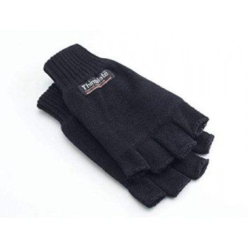 THINSULATE HALF FINGER GLOVES WN783 NOIRHiver
