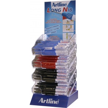 ARTLINE Permanent marker LONG NIB display 96-part Markers