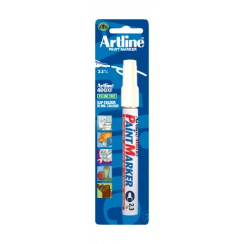 ARTLINE Paint marker 400 XF WHITE (blister) Hand tools