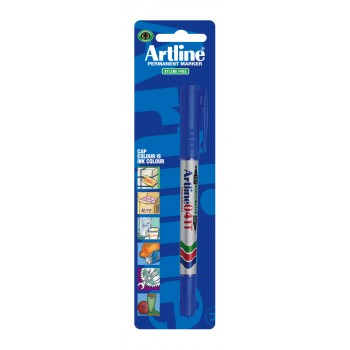 ARTLINE Permanent marker TWIN MARKER 041T RED Markers