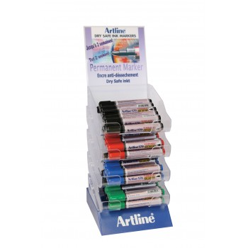 ARTLINE Permanent marker DRY SAFE display 48-part Markers