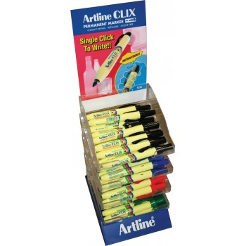 ARTLINE Permanent marker EK 73 - CLIX - 48-part display Markers