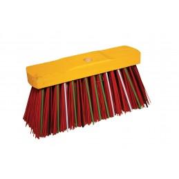BATI-CLEAN Street broom fiber 300 mm PVC flat with whales Brushes
