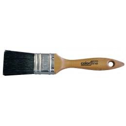 BATI-CLEAN Flat brush 2, pure black silk Flat brushes