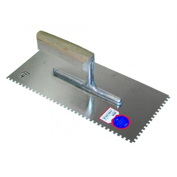 Praxis Serrated Plaster 280 x 130-10 x 10 Trowels