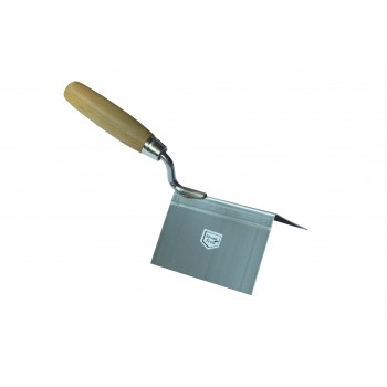 Trowel exterior angle 80 x 60 x 60 mm Inox Stainless steel trowels