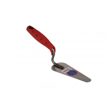 Praxis cat tongue SOFT GRIP stainless steel 140 x Soft grip trowels