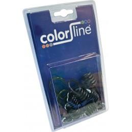 COLOR LINE Crochet pour élastique par 6 pcs Twines and ropes - Masonry and tiling