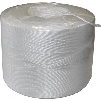 Color Line CR 694511 Wrapping twine PP - white - 1 Ropes