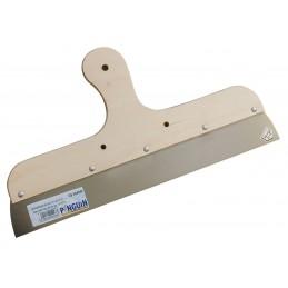 PINGUIN Couteau à enduire 400 mm / 0,7 mm, manche bois - inoxSpatules, couteaux de Peintres