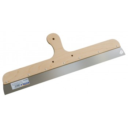 PINGUIN Couteau à enduire 600 mm / 0,7 mm, manche bois - inoxSpatules, couteaux de Peintres