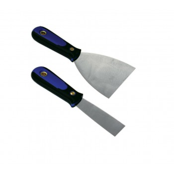Painter's spatula 100 mm DURA-GRIP - inox Painter's Knives