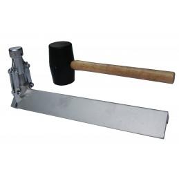 MONDELIN Fixateur angulaire + marteau en caoutchouc CLINCH-ON 285mmMarteaux et martellerie diverse