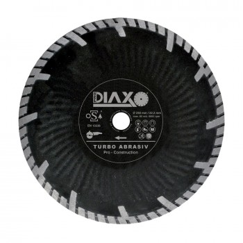 PRODIAXO TURBO ABRASIV diamond wheel - 125 x 22.2 mm - Pro Construction Home