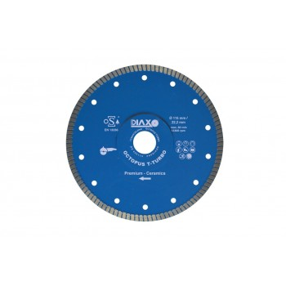 PRODIAXO Diamond Disc OCTOPUS T TURBO - 200 x 25.4 mm - Premium Ceramics Diamond saws for dry and wet use