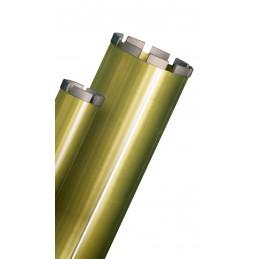 """PRODIAXO Couronne à eau avec segments soudés au laser 101 mm / L 400 mm - R1/2"""" - CD-W720L 400mm 1 1/4"""
