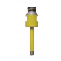PRODIAXO Water ring Ø 20 mm / L 120 mm - R1 / 2 - GRANITE - CD-W600 L 120mm 1/2