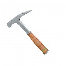 FREUNDMarteau de charpentier 700 gr, 1 pointe avec aîmant, forgé monobloc poignée en cuirMarteaux