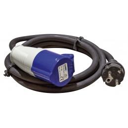Praxis Rallonge néoprène EN 60309 - 2m - 250V-Prolongateurs & Raccordements
