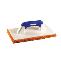 PINGUIN Plâtoir SOFT-GRIP 280 x 140 x 17mm avec semelle caoutchouc spongieux orangePlâtoirs et taloches