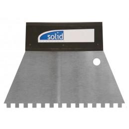 SOLIDCouteau à colle, denture carrée 180 mm - 4 x 4 mm\nPerçage, vissage, burinage, boulonnage
