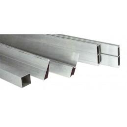 PREMIUM ALURègle en aluminium 65 x 30 / 1,2 mm / 250 cm\nRègles