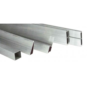 PREMIUM ALU rail and aluminum 65 x 30 / 1.2 mm / 250 cm\n Measuring bars