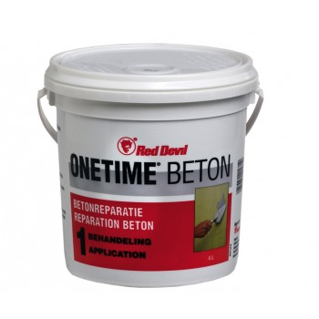 RED DEVIL Concrete renovation pile 1 L ONETIME CONCRETE\n Adhesives and silicones