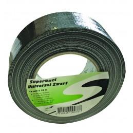 SUPERTAPETape SUPER DUCT noir - 50 mm x 50 m\nAdhésifs