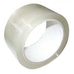 SUPERTAPETape d'emballage transparent PP acrylique - 50 mm x 66 m\nAdhésifs
