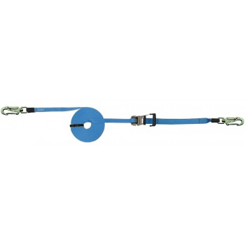 SECURX Mobile horizontal lifeline Ropes and automatic fall arrest devices