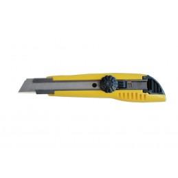 TAJIMACutter 18 mm avec renfort métallique et vis de fixation\nCouteaux, cutters et lames