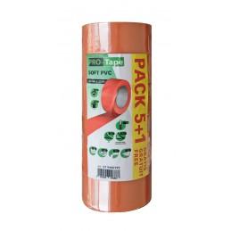 SUPERTAPETape PVC orange standard - 50 mm x 33 m\nAdhésifs