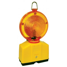 LUMX Flashing light Ø 180 mm - DUO - LED - red Road signs