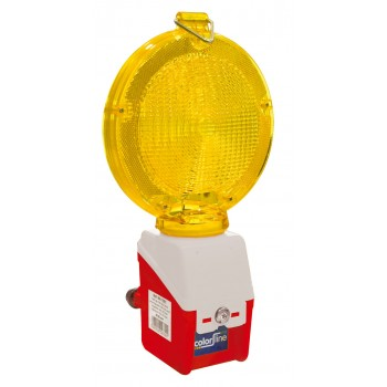 LUMX Flashing Lamp Ø 180 mm - 1000 LED - yellow\n Road signs