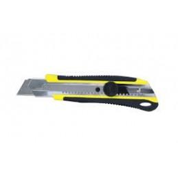 TAJIMADRIVER CUTTER 18 mm auto-lock + 13 lames RAZAR BLACK\nCouteaux, cutters et lames