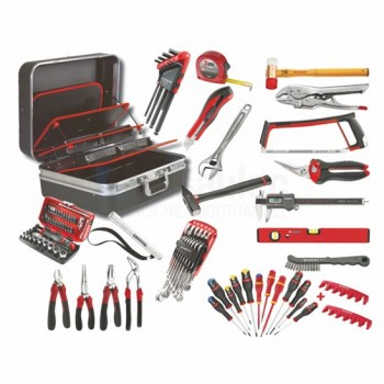 FACOM CM.BV51A - TOOL CASE SET - 91 TOOLS Tool cases FILLED