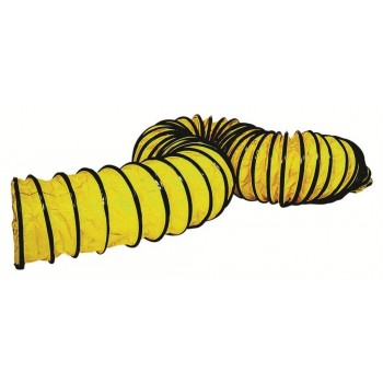 Master Flexible yellow hose 7,6m - 205mm Professional blowers and air circulators