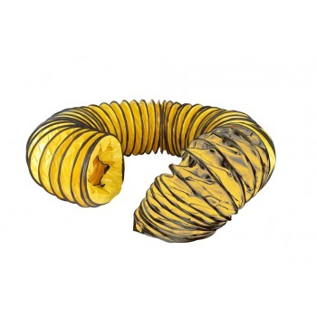 Master Flexible black-yellow hose 3,0m - 305mm Professional blowers and air circulators