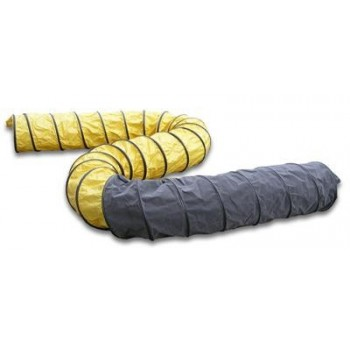 Master Flexible black-yellow hose 7,6m - 350mm Professional blowers and air circulators
