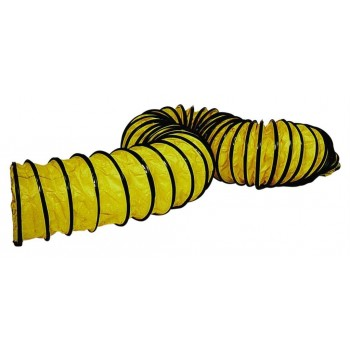 Master Flexible yellow hose 7,6m - 250mm Professional blowers and air circulators