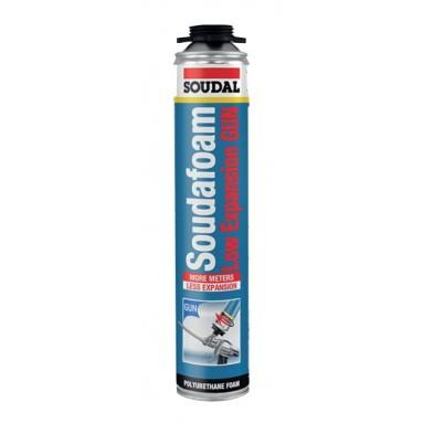 Soudal 750mL FOAM SoudaFoam LOW EXPANSION PU - 12pcs Adhesives and silicones